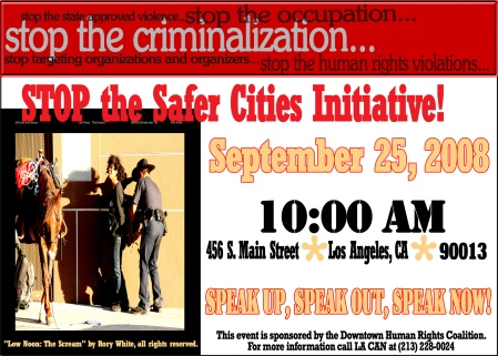 Safer Cities Initiative Action Invite
