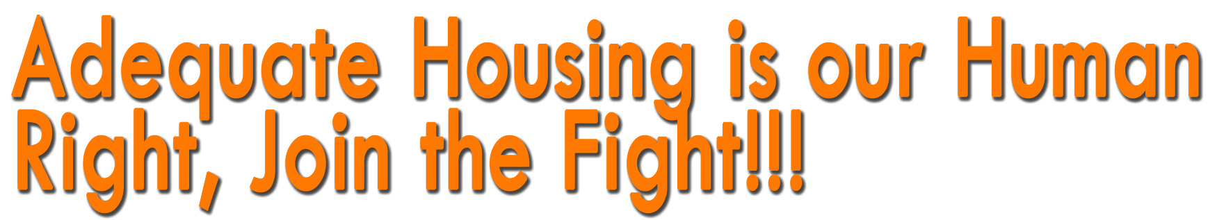 housing is a human right In canada, housing is a right right sure, on paper in practice, feds fail to live up to 40-year-old un commitment  they argue that canada needs a housing policy based on its human rights.