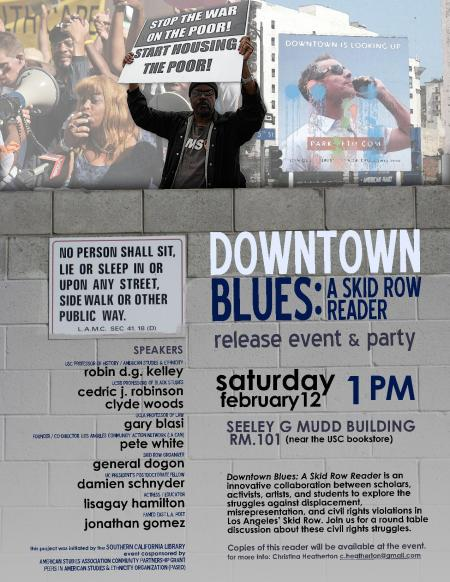 Downtown Blues Flyer