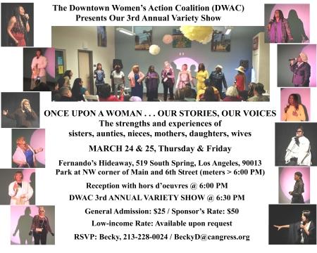DWAC Variety Show