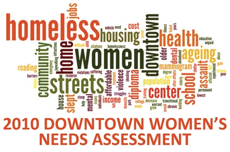 2010 Downtown Women's Needs Assessment