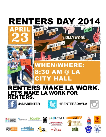 Renters Day Flier with Logos